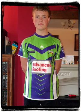 3- Barrow Raiders Replica Shirts – Kids ALTERNATIVE 2020