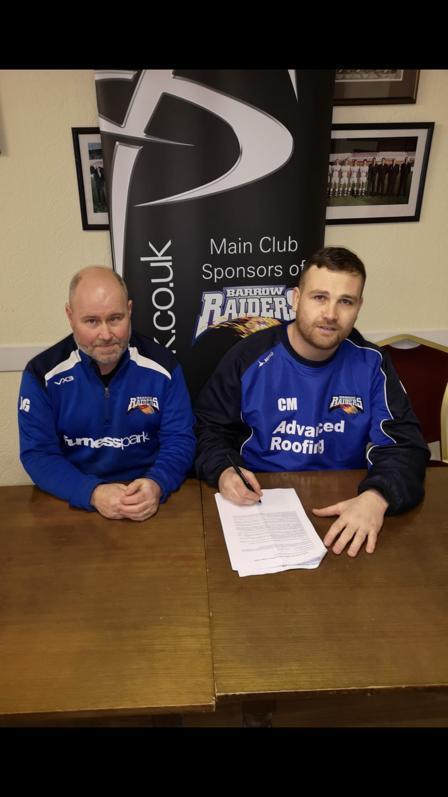 McBain signing