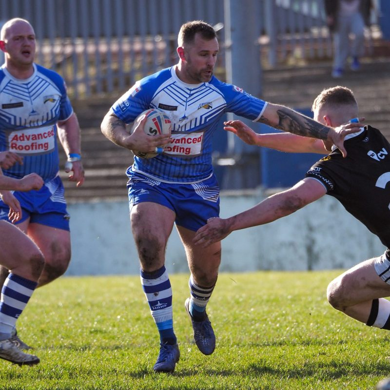 Barrow Raiders v Coventry Bears in the Betfred Championship 1 game at the Matt Johnson Prestige Stadium.